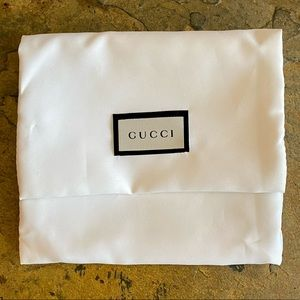 Ivory Gucci Pouch